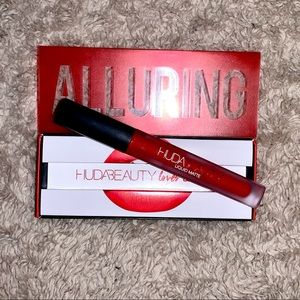 "Huda Liquid Lipstick in ""Alluring"""